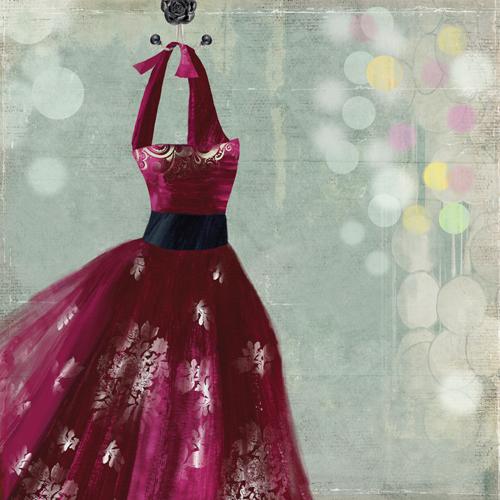 Aimee Wilson Fuschia Dress I