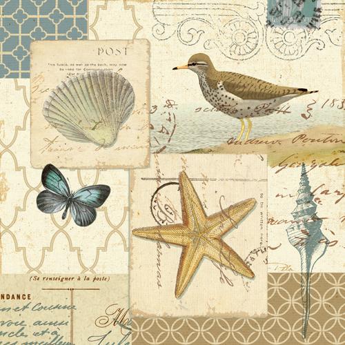 Alain Pelletier Coastal Collage Iv