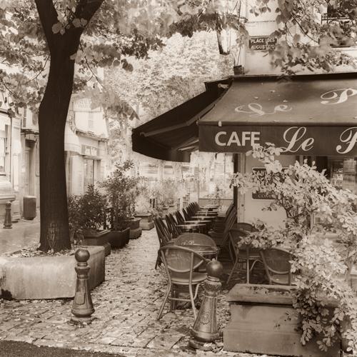Alan Blaustein Cafe Aix En Provence