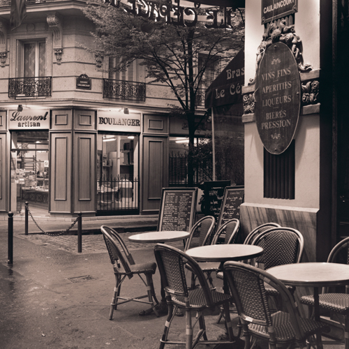 Alan Blaustein Cafe Montmartre