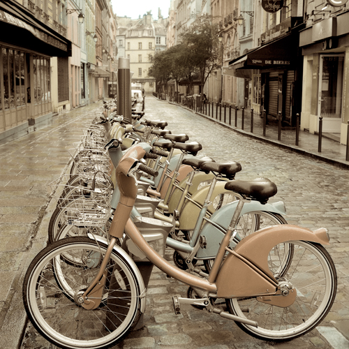 Alan Blaustein City Street Ride