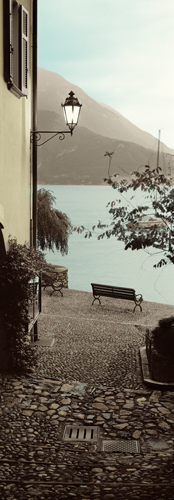 Alan Blaustein Panchina Di Lago