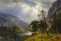 Albert Bierstadt Yosemite Valley 1866