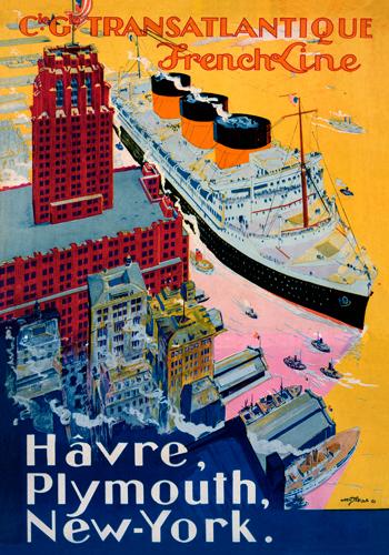 Albert Sebille Transatlantique French Line