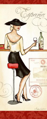 Andrea Laliberte Wine Event I