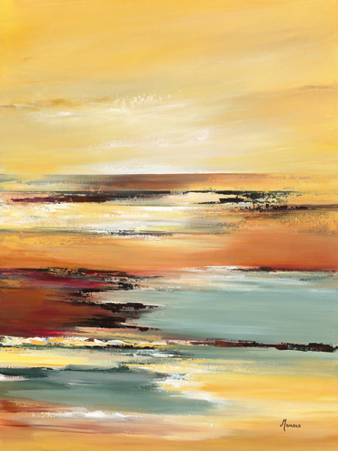 Annie Manero Horizon Sur L Etang I