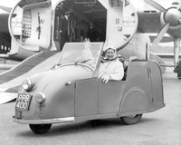 Anonym Invalid Tricyle Car 1954