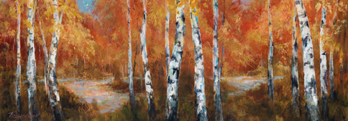 Art Fronckowiak Autumn Birch