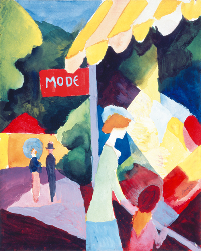August Macke Modefenster