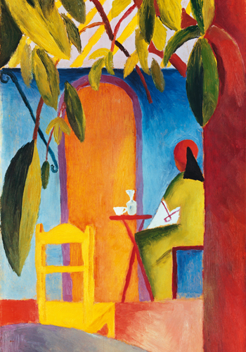 August Macke Turkisches Cafe Ii