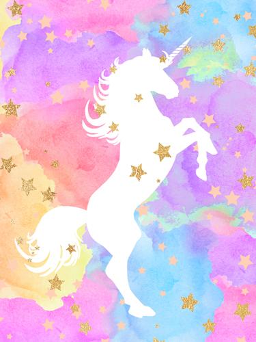 Bella Dos Santos Unicorn Silhouette