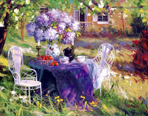 Benjamin Lilac Tea Party