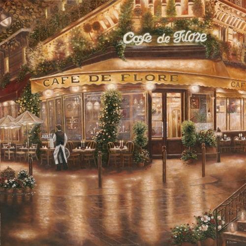 Betsy Brown Cafe De Flore