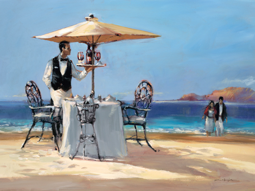 Brent Heighton On The Beach