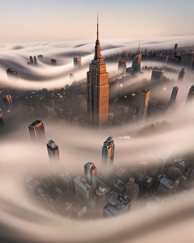 Bruce Getty Empire Fog