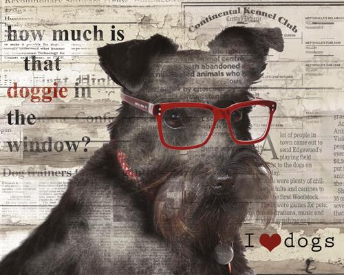 Carol Robinson Doggie In Window