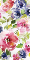 Carol Robinson Watercolor Cascade I