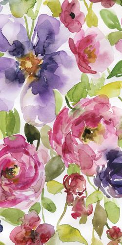 Carol Robinson Watercolor Cascade Ii