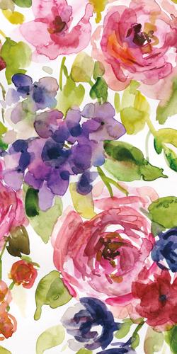Carol Robinson Watercolor Cascade Iii