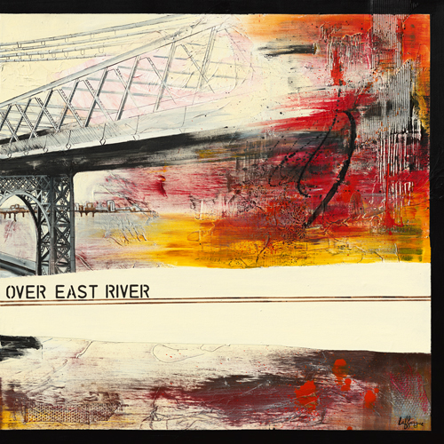 Caroline Laffargue Walk Over East River Ii