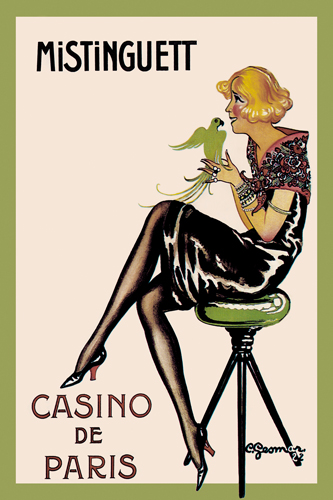 Charles Gesmar Mistinguett Casino De Paris 1922