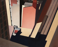 Charles Sheeler Church Street El 1920