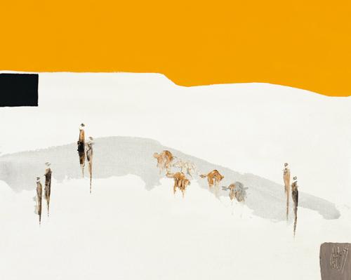 Christian Choisy La Route Du Desert I