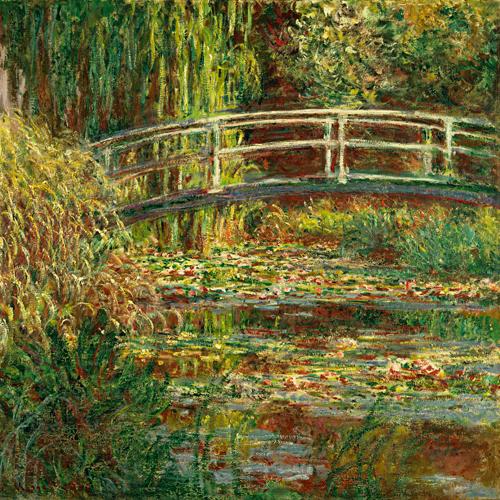 Claude Monet Seerosenteich Harmonie In Rosa 41260