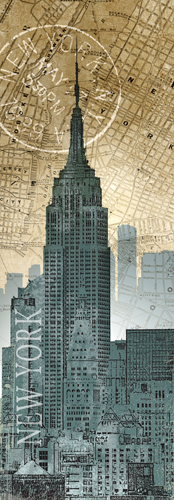 Conrad Knutsen New York Map