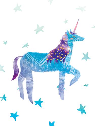 Crystal Smith Prancing Unicorn