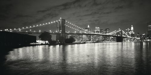 Dave Butcher Brooklyn Bridge At Night