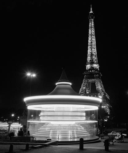 Dave Butcher Eiffel Tower Merry Go Round