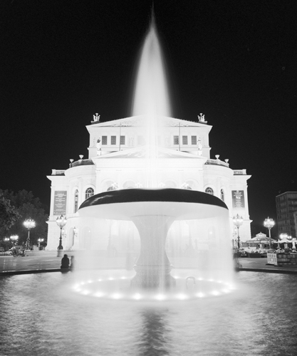 Dave Butcher Frankfurt Alte Oper At Night