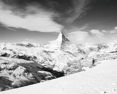 Dave Butcher Matterhorn From Unterrothorn 40990