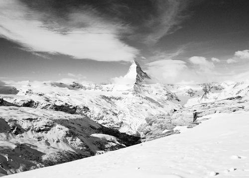 Dave Butcher Matterhorn From Unterrothorn