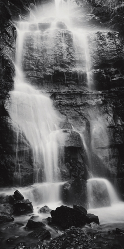 Dave Butcher Waterfall Swallet Peak District England