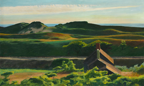 Edward Hopper Hills South Truro 1930