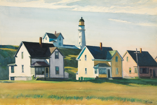 Edward Hopper Lighthouse Village Also Known As Cape E