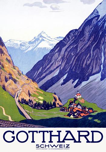 Emil Cardinaux Gotthard Schweiz