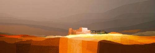 Fernando Hocavar Landscape Under The Hidden Moon I