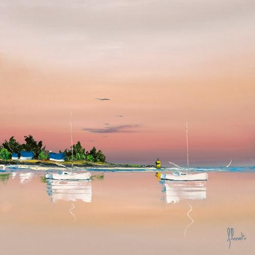 Frederic Flanet Soleil Couchant Sur Le Golfe 1