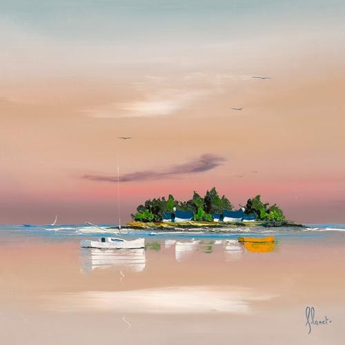 Frederic Flanet Soleil Couchant Sur Le Golfe 2
