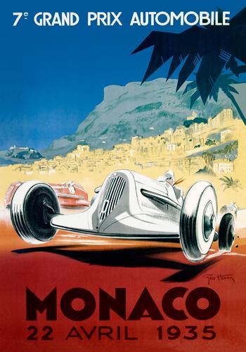 Geo Ham Monaco 22 Avril 1935