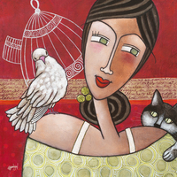 Geraldine Bandiziol Peace And Love