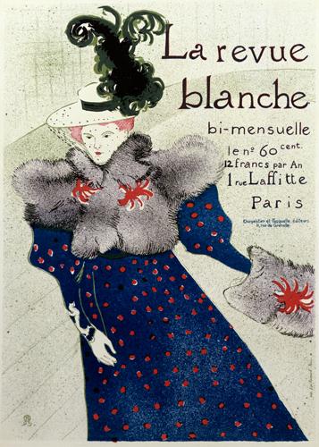Henri De Toulouse Lautrec La Revue Blanche