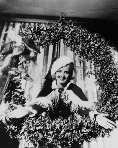 Hollywood Photo Archive Bette Davis Christmas Wreath
