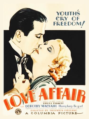 Hollywood Photo Archive Bogart In Love Affair 1932