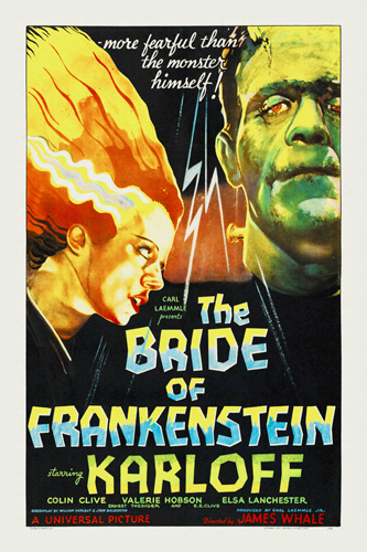 Hollywood Photo Archive Bride Of Frankenstein