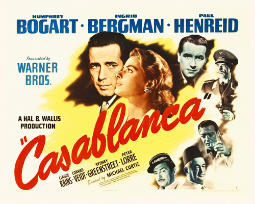 Hollywood Photo Archive Casablanca Poster