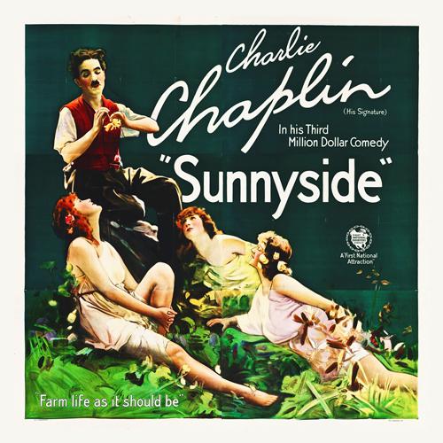 Hollywood Photo Archive Chaplin Charlie Sunnyside 1919